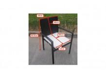 Umělý ratan jídelní židle Havana