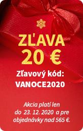 Zľava 20 €